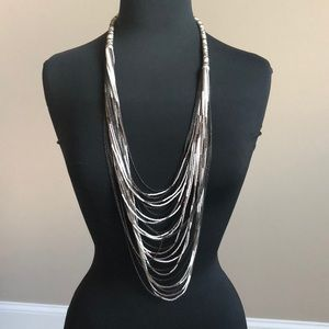 Unique Bead and chain necklace